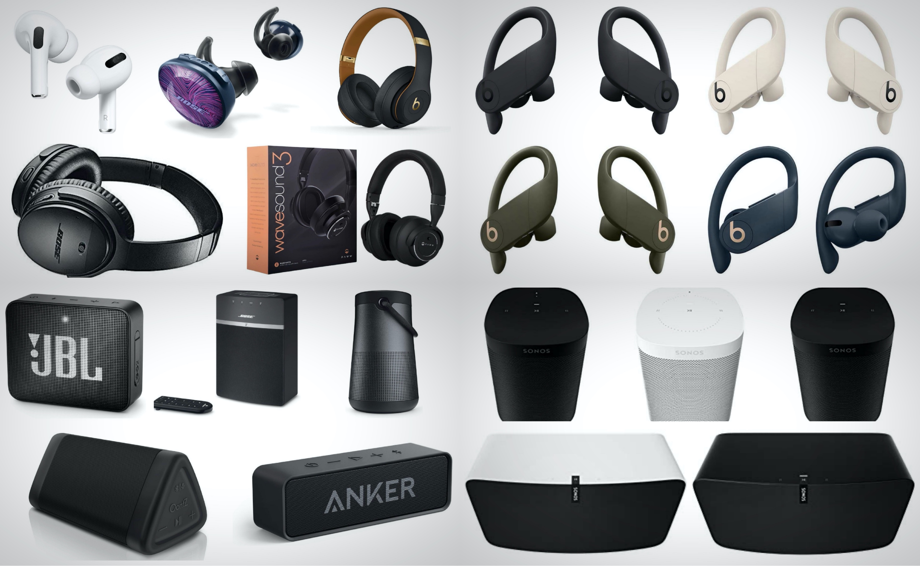 Best Cyber Monday Deals On Wireless Headphones Earbuds And Bluetooth Speakers Brobible