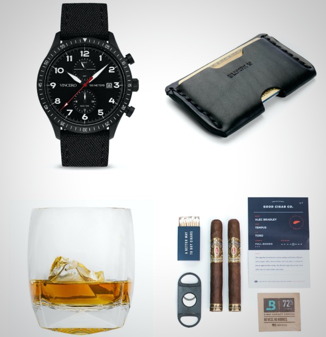 best everyday carry gear after hours whiskey cigars