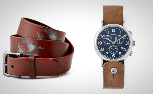 best leather gifts for men Christmas holiday present ideas