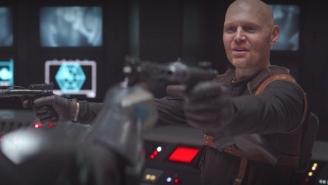 'I DID NOT DROP BABY YODA!' Bill Burr Exclaimed As He Blamed 'The Robot Dude'