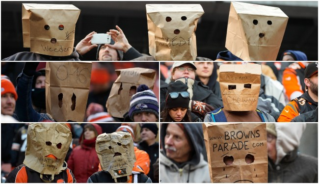 browns fans bags