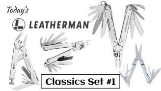 Today's Leatherman: Classics Set #1