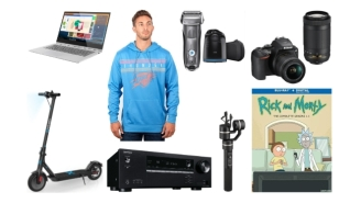 Daily Deals: 'Rick & Morty,' NBA Sweatshirts, $25 Vans, 25% Off Nike, Banana Republic Cyber Week Sale And More!