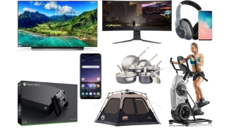Daily Deals: Cyber Monday – Amazing Prices On OLED TVs, Big Screen 4K TVs, Tents, Chromebooks, Nike Sale And More!
