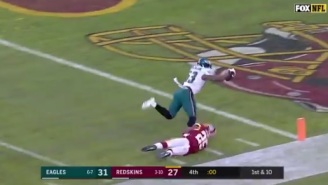 Gamblers Who Had Redskins +6.5 Against The Eagles Suffered The Worst Bad Beat Of Season On Crazy Final Play