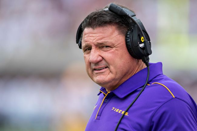 Ed Orgeron Says 'Most' Of LSU Players Have Already Had COVID-19, Hopeful They Won't Catch It Again