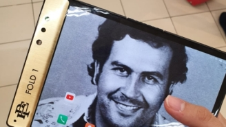 Pablo Escobar's Brother Unveils $349 'Unbreakable' Foldable Phone That Lingerie Models Love