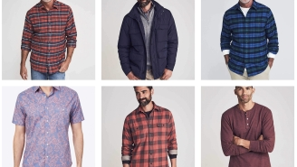 Winter Steals – Save Up To 50% Off Faherty Men's Flannels, Henleys, Jackets, And More