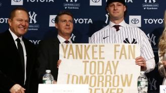 Baseball Fans Are Having A Lot Of Fun Modifying The Yankees Sign Gerrit Cole Made When He Was 11