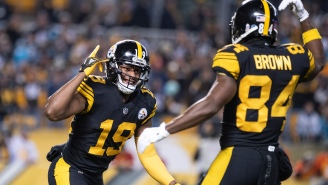 Antonio Brown Calls JuJu Smith-Schuster A 'Bum' And Mocked Him For Having Disappointing Season In His Absence