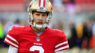 Kyle Shanahan Gives Proper Locker Room Tribute To Niners QB C.J. Beathard After His Brother Was Tragically Murdered