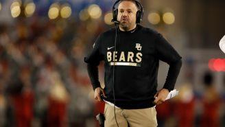 Baylor Head Coach Matt Rhule, Yet Again, Doesn't Shut Down Idea Of Leaving For An NFL Job