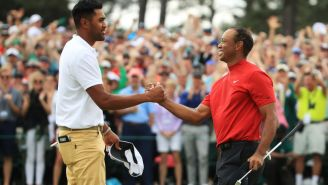 Tony Finau Shared A Classic, Cold-Blooded Story About How Serious Tiger Woods Was During The Final Round Of The 2019 Masters
