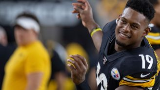 JuJu Smith-Schuster Says That If He Doesn't Get The Ball Enough On Sundays He Just Goes Home And Throws It To Himself On Madden