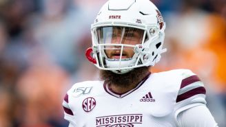 Mississippi State QB Garrett Shrader Reportedly Broke His Orbital Bone In Fight With Teammate, Will Miss Bowl Game Due To Injury