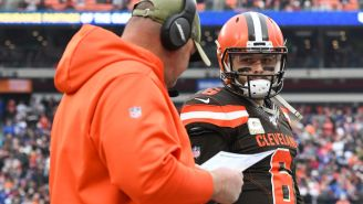 Baker Mayfield Addressed Freddie Kitchens' Job Status And Let's Just Say He Doesn't Seem Too Worried About It