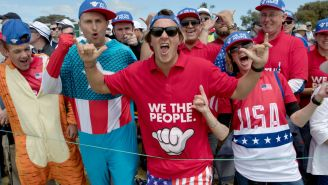 Some Of The 'American' Fans At The Presidents Cup Are Allegedly Fans-For-Hire That Aren't Even American