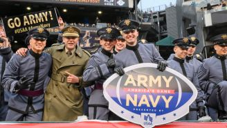 In Unsurprising Discovery, It Turns Out Army And Navy Were Just Playing The Circle Game And Not Flashing A Racist Hand Gesture During Pregame Show