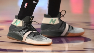 """Kawhi Leonard Wears New Balance OMN1S  """"Money Stacks"""" Sneakers During Lakers-Clippers Christmas Day Game"""