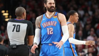 Steven Adams Says 'I Absolutely S-it My Pants' Before Hitting Game-Winning Free Throw