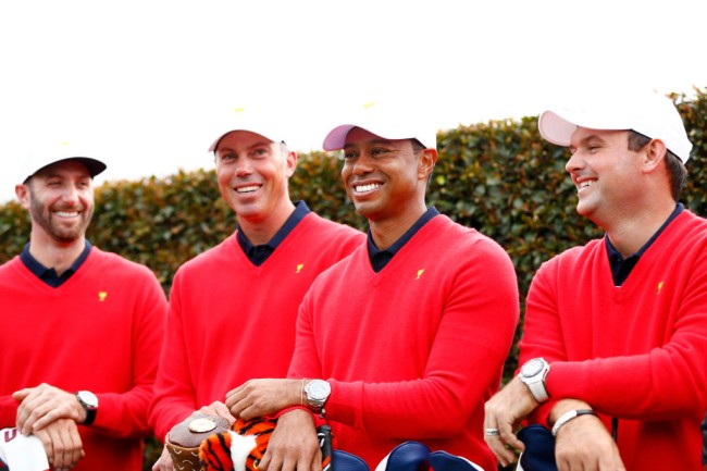 team usa no drinking presidents cup