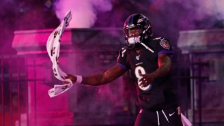 The Baltimore Ravens Unveil Insane Futuristic 'Mixed Reality' Spectacle During 'Thursday Night Football' And Fans Are Obsessed