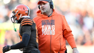 Odell Beckham Reveals Reason For Heated Sideline Exchange With Freddie Kitchens During Loss