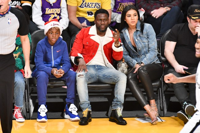 Kevin Hart Lakers Game