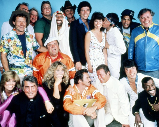 1981 Cannonball Run movie cast