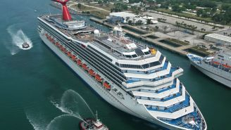 VIDEO: Watch Cruise Ships Collide In Mexico