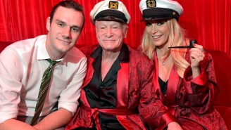 Hugh Hefner's Son Cooper Announced He's Leaving Media For A 'Greater Service' And Has Enlisted In The Air Force