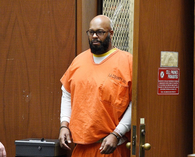 New photo of Suge Knight in prison from his daughter Arion.