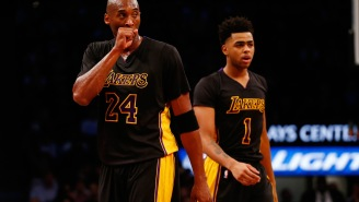 Kobe Bryant Was So Bothered By D'Angelo Russell Showing Up Five Minutes Before Practice That Byron Scott Had To Implement A New Rule