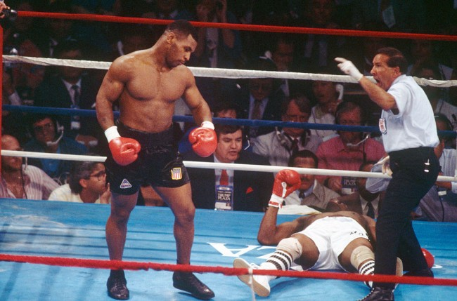 The history of Mike Tyson, how a 12-year-old Iron Mike could knockout adult men, to amateur KOs under Cuz D'Amato, to Olympic bid, to his first professional fight, to being the heavyweight champion.