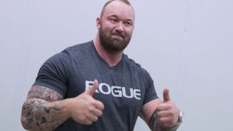 Former World's Strongest Man Hit His Sparring Partner So Hard That He Coughed Up Blood