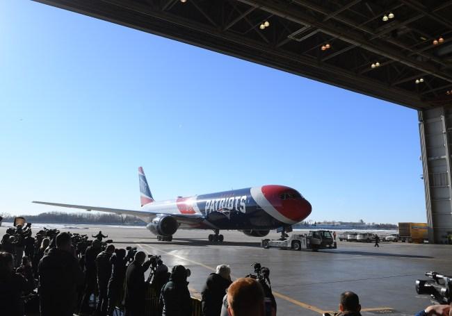 New England Patriots Private Plane