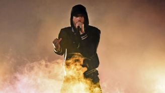 Eminem Fired Shots At Nick Cannon And Mariah Carey On New Fat Joe Track