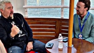 We Ate BBQ With Guy Fieri On A Carnival Cruise Ship – Here's Why He's Also 'The Admiral' Of Flavortown