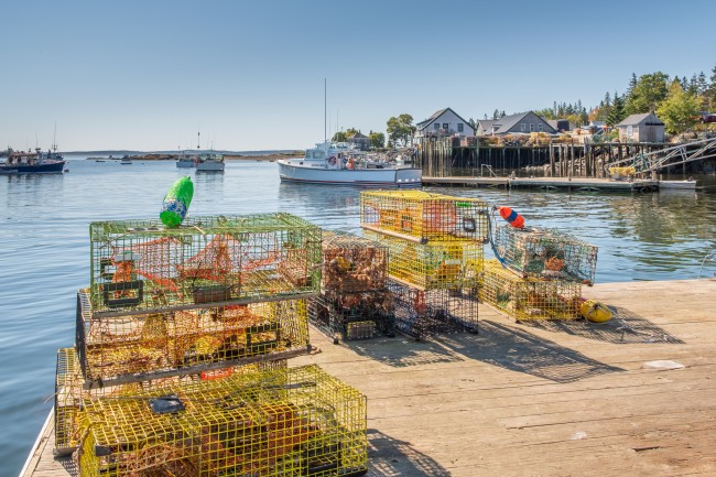 Boston Massachusetts lobster seafood traps