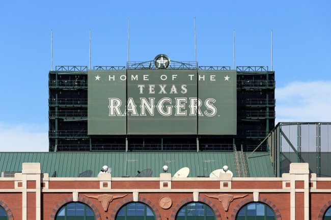 Texas Rangers ballpark