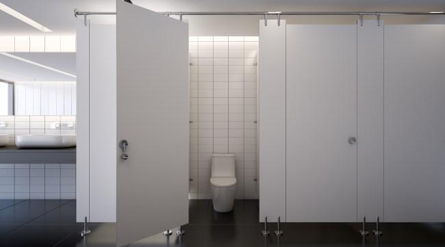 office bathroom toilets