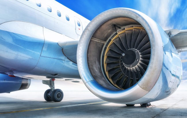 Here is the scientific reason why the front of airplane engines are unpainted.