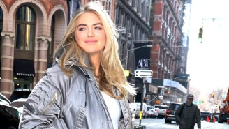 Kate Upton Got Called A 'Murderer' By Angry Animal Rights Activists During One Of Her Fitness Classes
