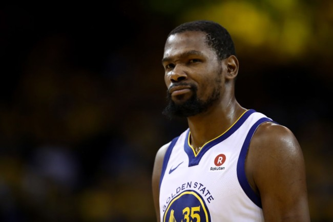warriors ignore kevin durant decade video