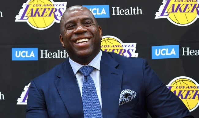 Magic Johnson Says The Lakers Recent Success Is Largely Due To Him