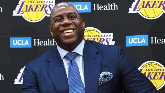 Magic Johnson Says Of The Lakers' Success: 'This Team Would Not Be In The Position It's In Without Me'