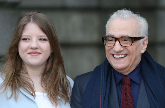 Martin Scorsese daughter marvel wrapping paper