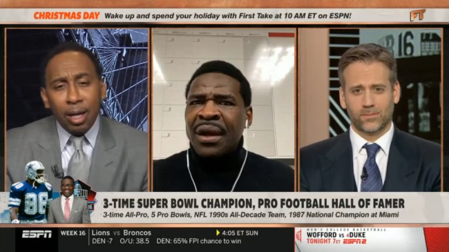 Michael Irvin Cowboys Vs Eagles With Stephen A Smith
