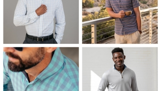 Mizzen+Main's Last Chance Sale Has Performance Shirts, Henleys And Pullovers For ALL $75 Or Under