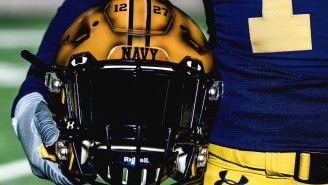 Navy Just Unveiled Their Stunningly Cool 1960s Era Throwback Uniforms For The 2019 Army-Navy Game